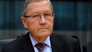 Regling: Staaten müssen für Bankenhilfen nicht haften