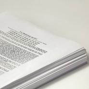 """Die Kreditverbriefung """"La Défense III"""" in Papierform"""