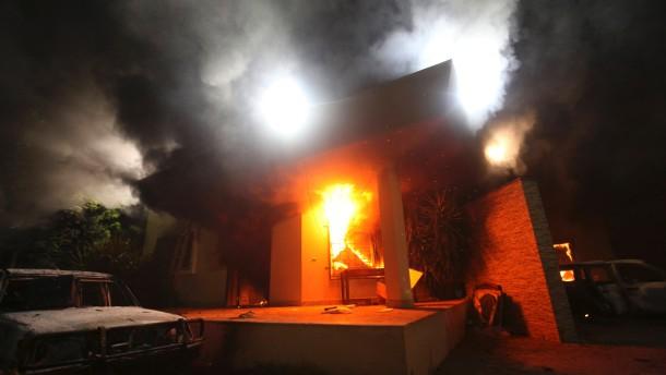 Botschafter Amerikas in Libyen getötet