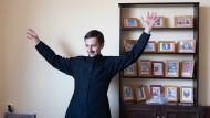 Minsker Priester-Blogger Alexander Kuchta.