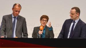 Merz will die CDU wieder zu 40 Prozent führen