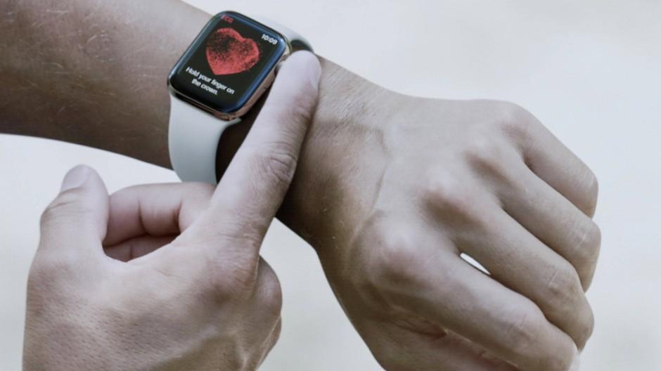 Apple Watch kann Herzfrequenz messen