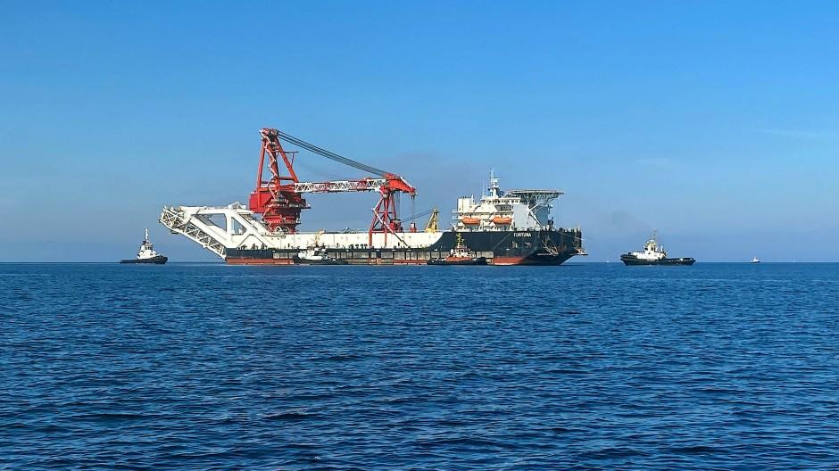 Nord Stream 2 in deutschen Gewässern fertig