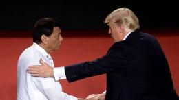 Duterte singt für Trump