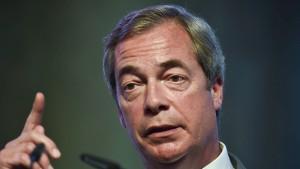 Nigel Farage im Visier des FBI