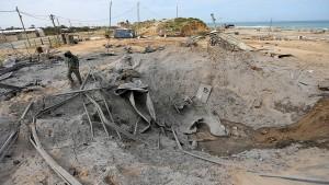 Palästinenser schießen Raketen auf Israel