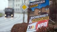 Büdingen und die NDP: Nicht die erste Auseinandersetzung vor Gericht