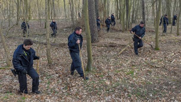 Polizei beendet Suche in Waldgebiet ergebnislos
