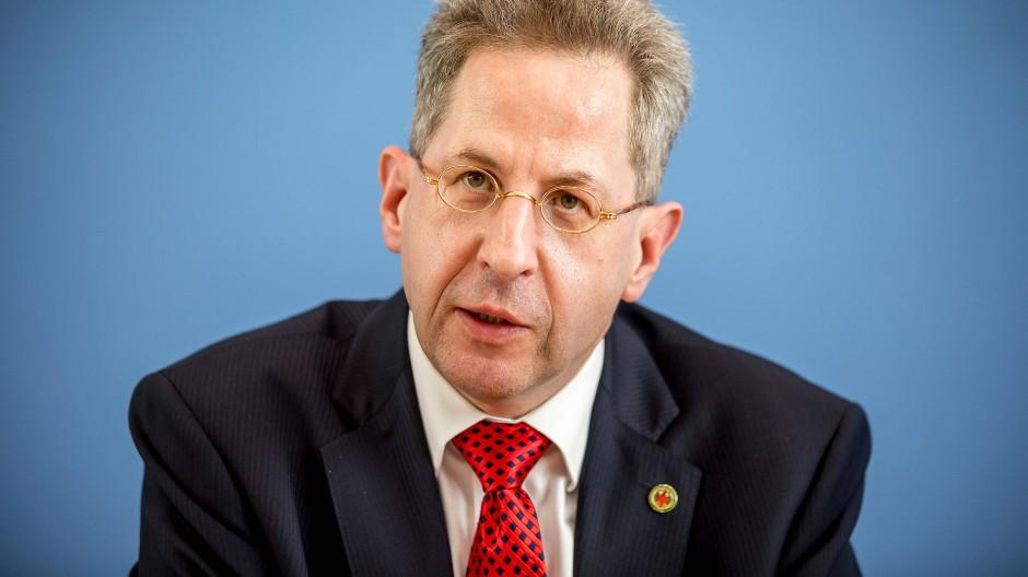 Umstritten: Der frühere Verfassungsschutzpräsident Hans-Georg Maaßen