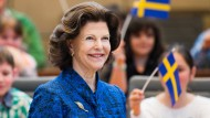 Silvia von Schweden besucht Landtag