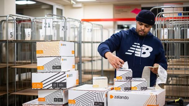 Zalando profitiert stark von Boom des Online-Handels