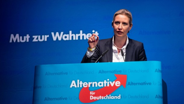 Weidel und die drei vom Bundestag