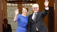 Frank-Walter Steinmeier und seine Frau Elke Büdenbender