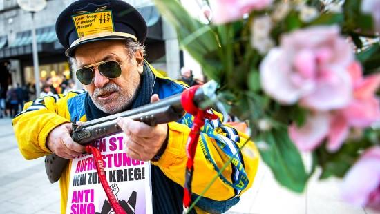 Proteste gegen Sicherheitskonferenz