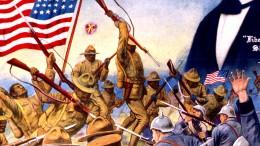 Amerikanische Soldaten haben Probleme mit den Franzosen