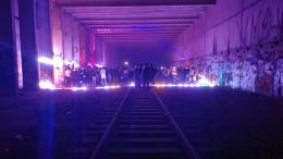 Geheime Corona-Party in Pariser Untergrund