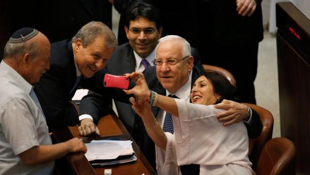 Reuven Rivlin ist neuer Präsident Israels