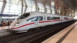 Pistole auf ICE-Toilette löst Großeinsatz in Frankfurt aus