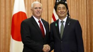 Amerika und Japan erhöhen Druck auf Nordkorea