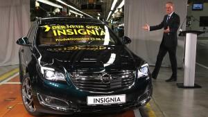 Insignia tritt das Erbe des Opel Laubfrosch an