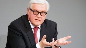 Steinmeier: Deutschland muss sich mehr einmischen