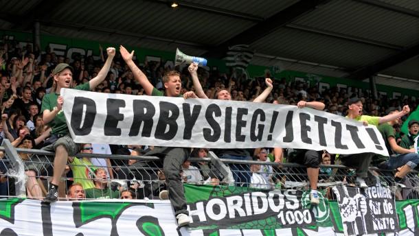 SpVgg Greuther Fürth - 1. FC Nürnberg 1:1