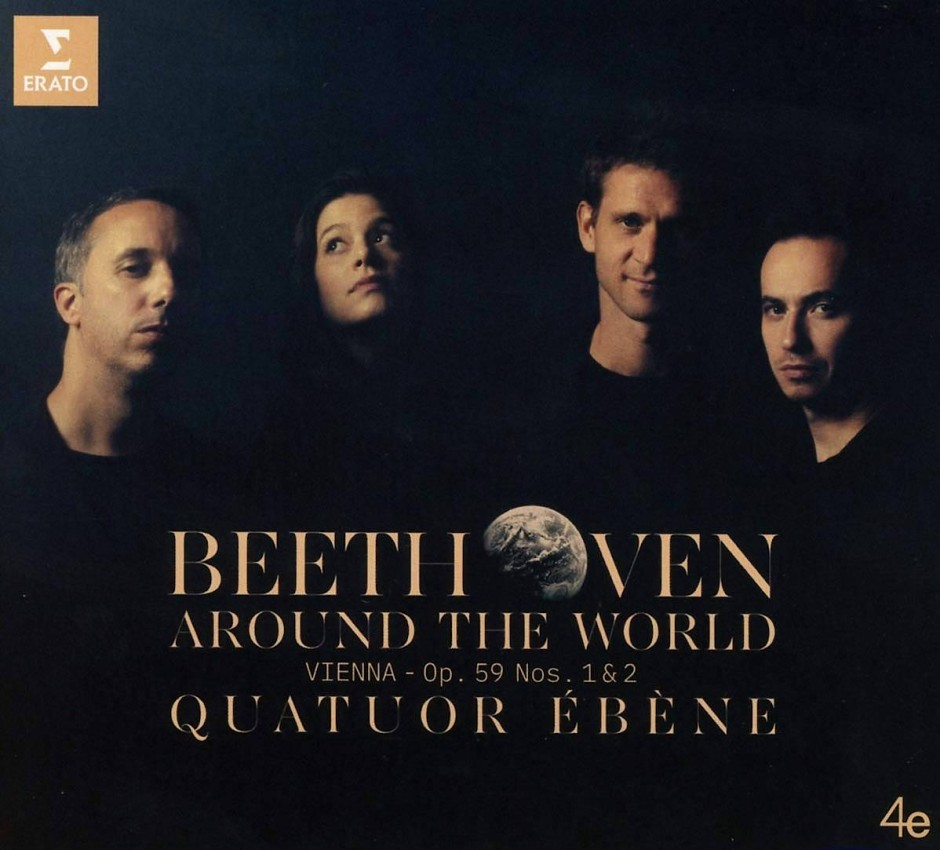 Beethoven – Around The World. The Complete String Quartets. Quatuor Ébène.