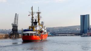 """Rettungsschiff """"Aquarius"""" kehrt ins Mittelmeer vor Libyen zurück"""