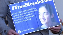 Deutsche Journalistin Meşale Tolu vor türkischem Gericht