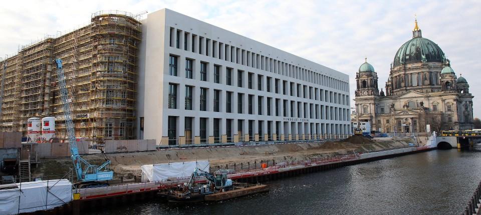 Berlins Neues Schloss Hat Nicht Nur Ein Budgetproblem