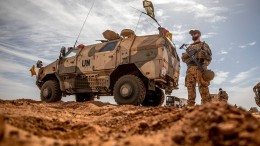 Bundeswehr-Konvoi von malischer Armee beschossen