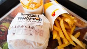 Burger King setzt auf vegetarische Burger