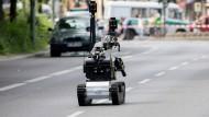 Geparktes Auto versetzt Polizei in Alarmbereitschaft