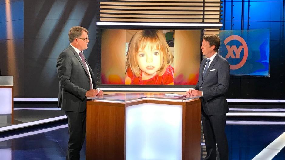 """Bereits Anfang Juni waren neue Entwicklungen im Fall Maddie Gegenstand einer Sendung von """"Aktenzeichen XY""""."""