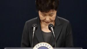 Staatsanwälte wollen Haftbefehl gegen entmachtete Präsidentin