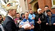 Prinzenpaar informiert über Karneval auch auf Arabisch