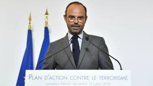 Frankreich will ehemalige Häftlinge besser überwachen