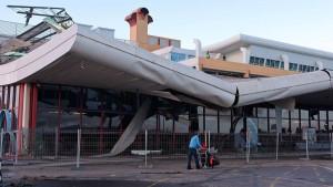 Dach des Algarve-Flughafens eingestürzt