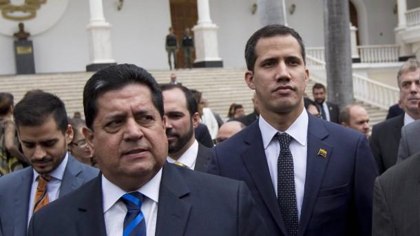 Venezolanischer Geheimdienst nimmt Guaidós Stellvertreter fest