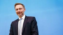 """Lindner: FDP hat """"gesamtdeutschen Gestaltungsanspruch"""""""