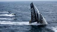 Nicht zu stoppen: Das Brunel-Team führt kurz vor dem Finale des Ocean Race die Gesamtwertung an.