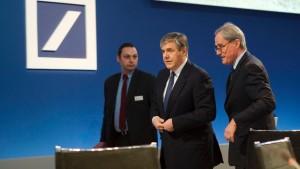Ärger über Deutsche Bank