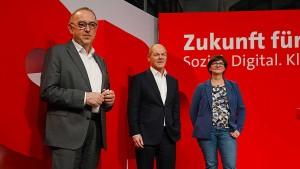 Die SPD tut so, als sei nichts gewesen