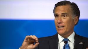 """Romney vermisst bei Trump """"charakterliche Qualitäten"""""""