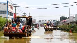 China bereitet sich auf Taifun vor