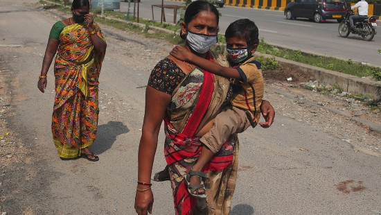 Mehr als acht Millionen Corona-Infektionen in Indien