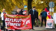 NPD-Kundgebung in Bad Fallingbostel im Jahr 2015