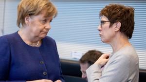 Bereitet sich die CDU auf den Ernstfall vor?
