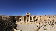 Teile zerstört: Amphietheater in Palmyra