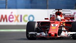 Vettel rast im letzten Augenblick auf die Pole Position